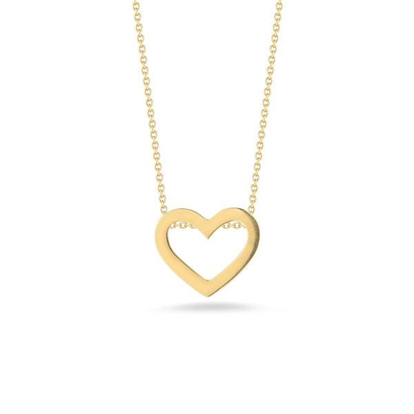 Roberto Coin Tiny Treasures Gold Heart Pendant