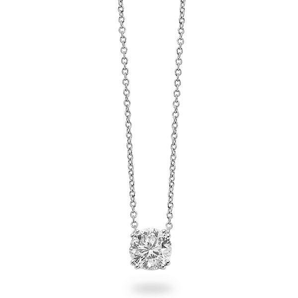 Roberto Coin Cento Diamond Solitaire Pendant Necklace
