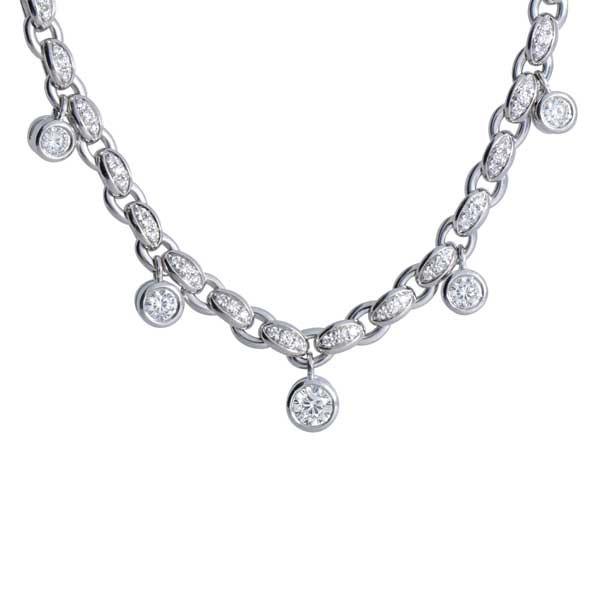 Roberto Coin Cento Diamond Necklace
