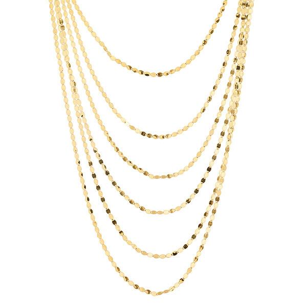 Lana Bond Nude Roma Yellow Gold Necklace