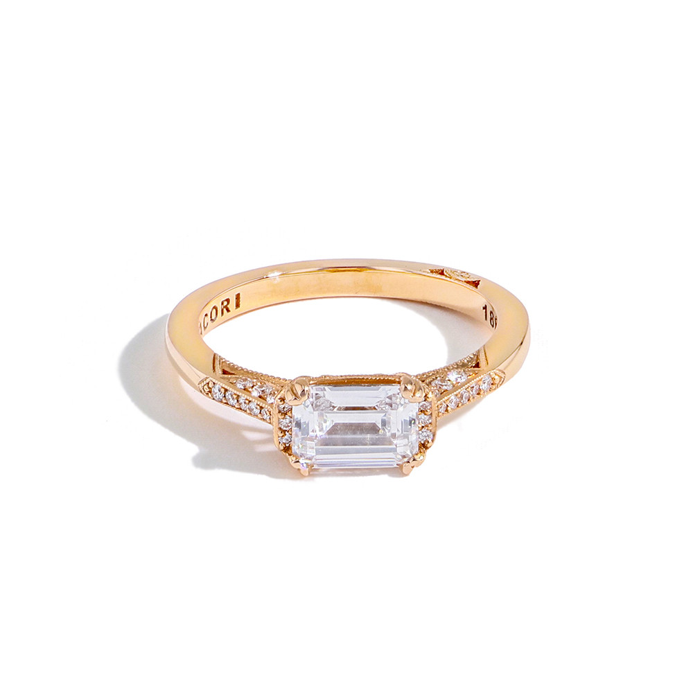 Simply Tacori 2655ec East West Diamond Ring Setting