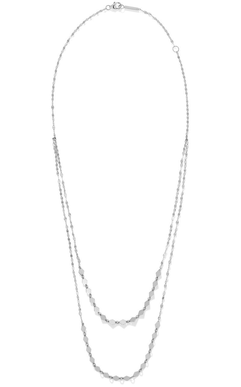 Lana Kite Layering Necklace in White Gold