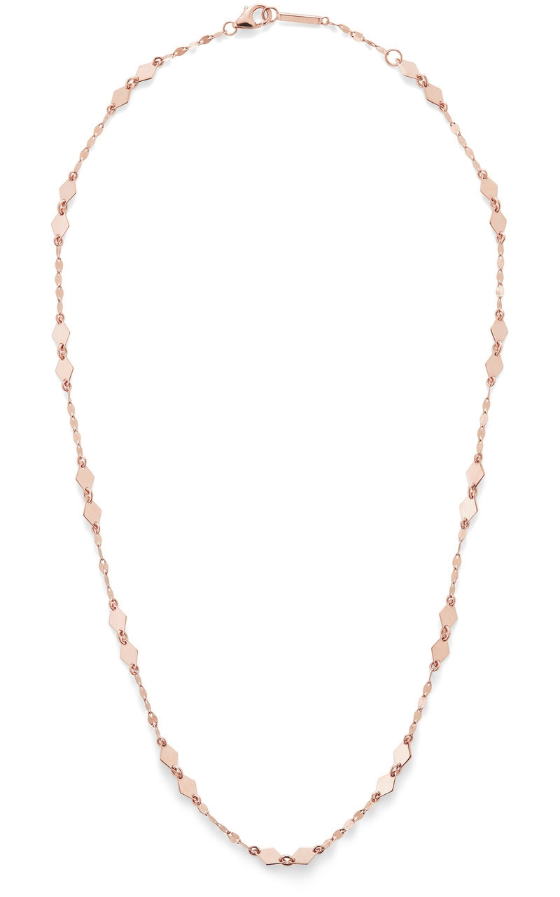 Lana Kite Chain Choker in Rose Gold