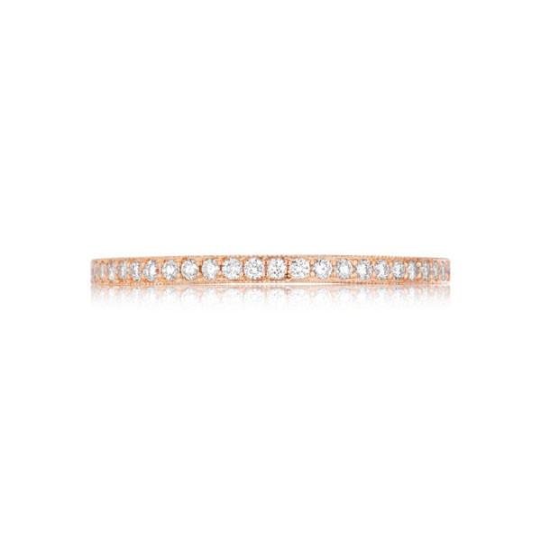 Tacori 41-15 Pretty In PInk Hand-Engraved Diamond Wedding Band
