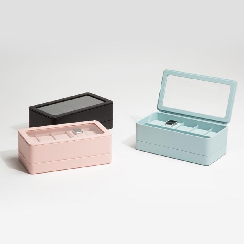 Wolf Aqua 6 Piece Smart Watch Storage Box