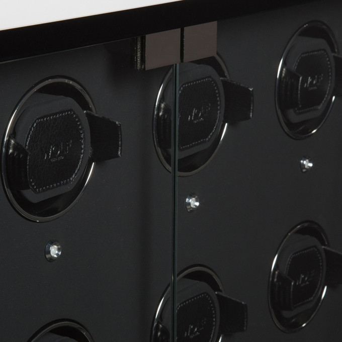 Wolf Baron 24 Watch Winder Cabinet with Storage Inside View