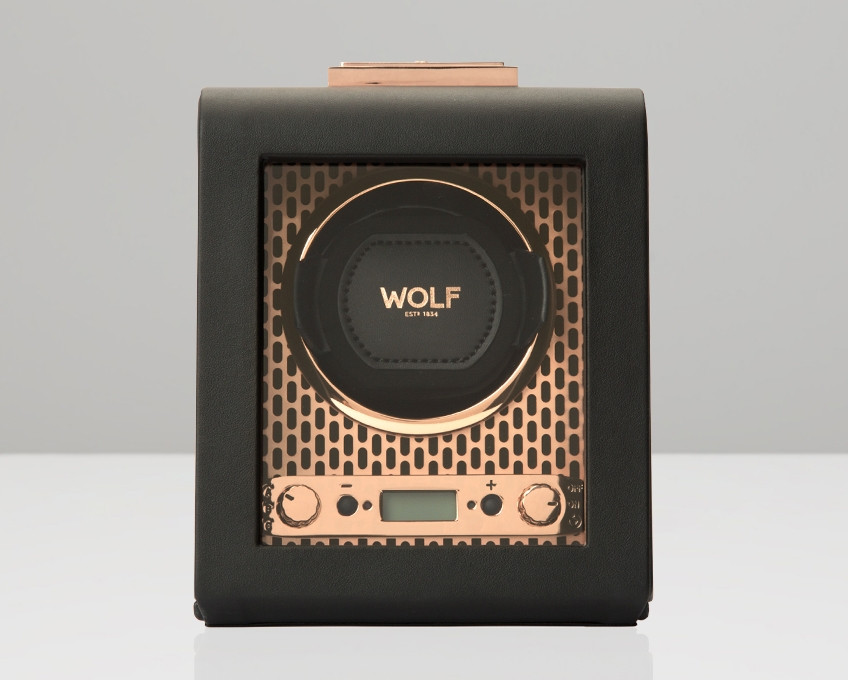 Wolf Axis Copper Single Watch Winder