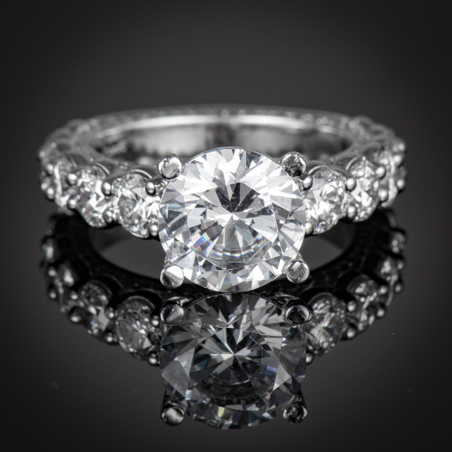 Forever Diamond Engagement Ring Setting