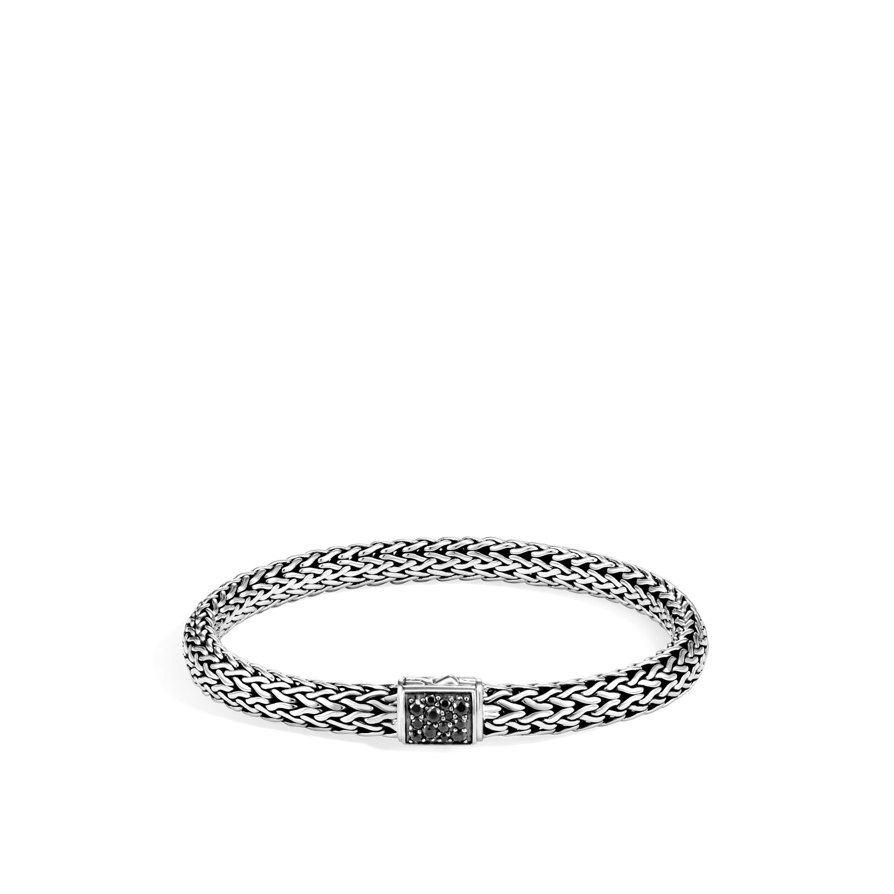 John Hardy Classic Chain Black Sapphire Bracelet