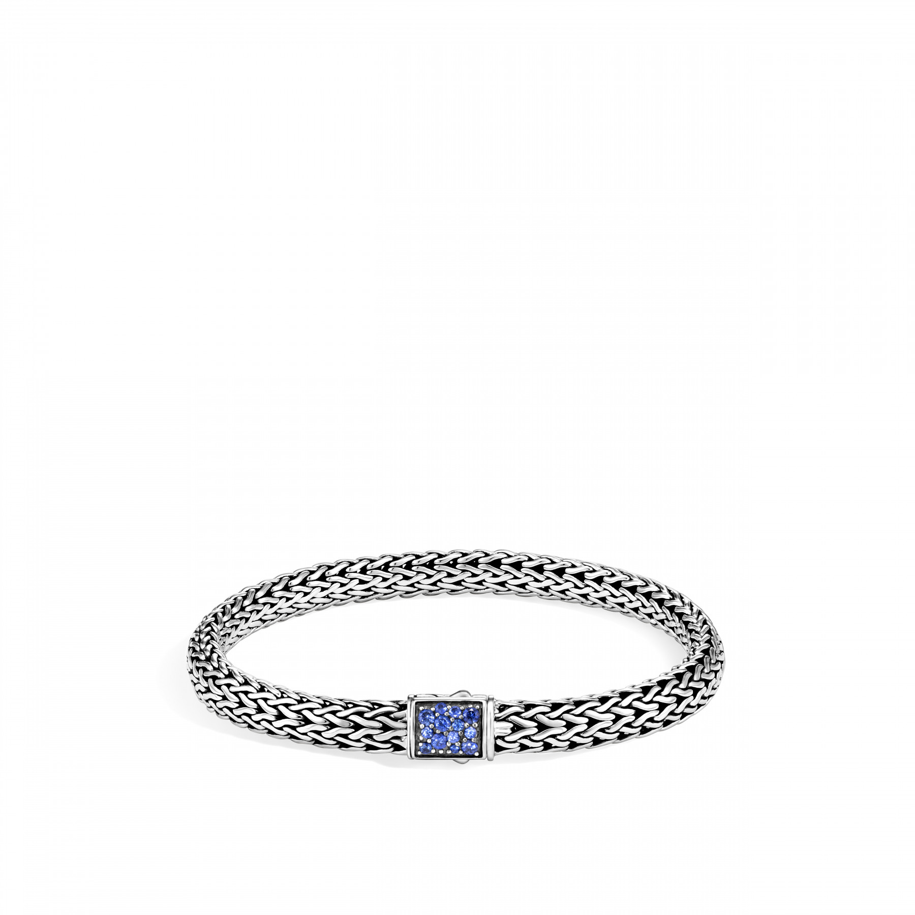John Hardy Classic Chain Blue Sapphire Bracelet