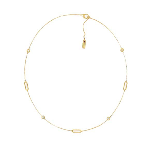 Roberto Coin New Barocco Diamond Necklace