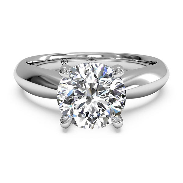 Ritani Tapered Solitaire Engagement Mounting