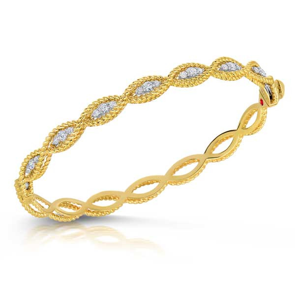 Roberto Coin New Barocco Diamond Bracelet