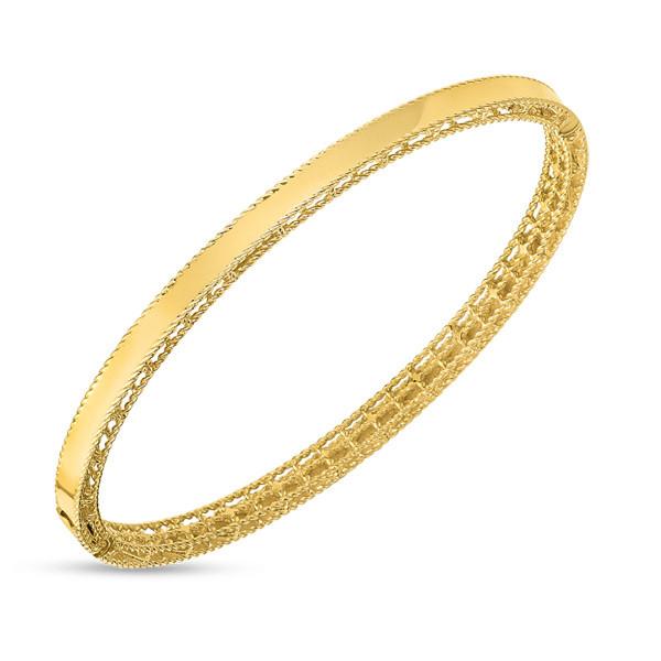 Roberto Coin Symphony Princess Bangle Bracelet
