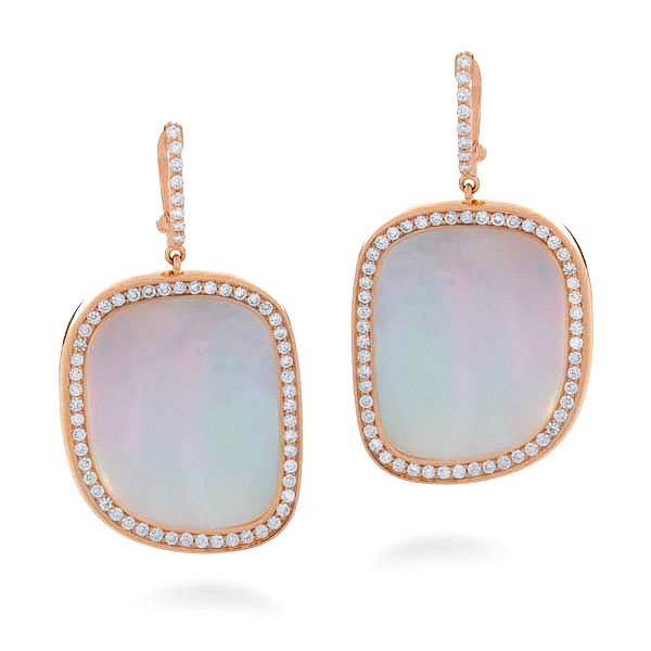 Roberto Coin Mother of Pearl Earrings