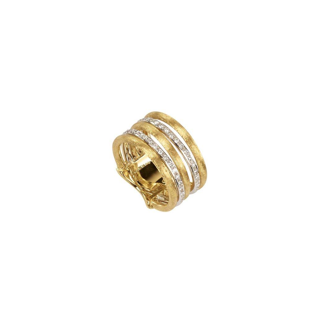 Marco Bicego Jaipur Two Row Diamond Ring
