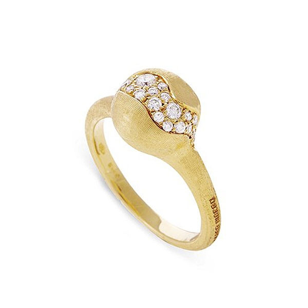 Marco Bicego Small Africa Constellation Yellow Gold Diamond Ring