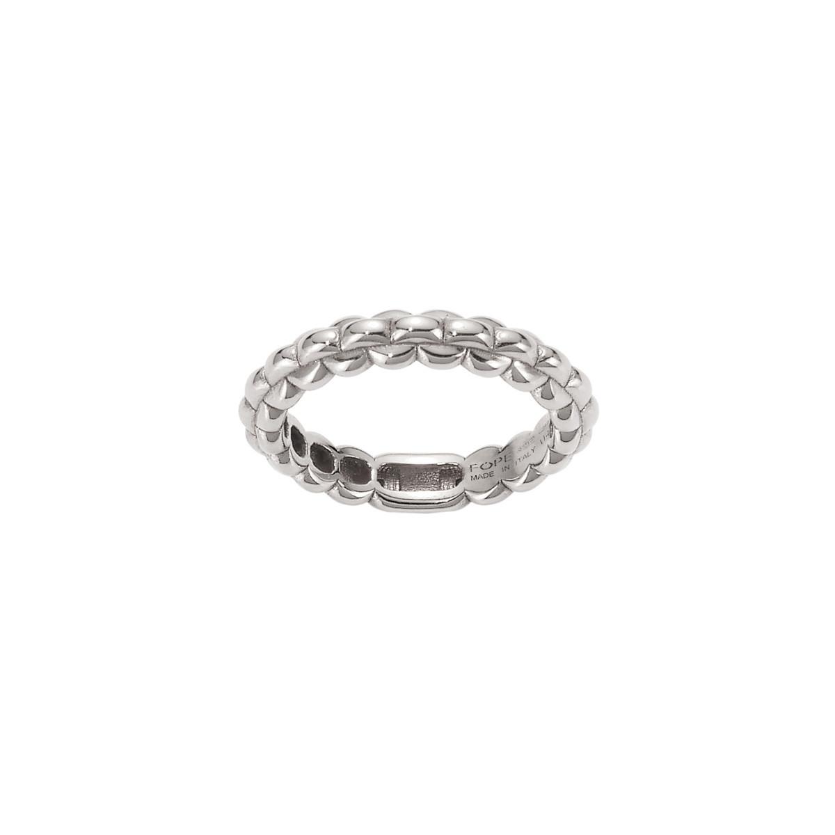 Fope EKA White Gold Tiny Ring