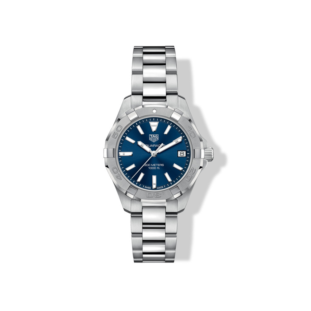 Tag Heuer Blue Dial Sports Aquaracer Watch