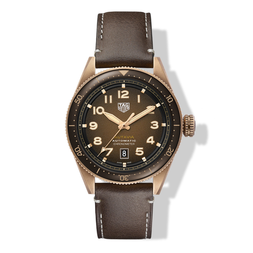 TAG Heuer Autavia Bronze 42mm Watch