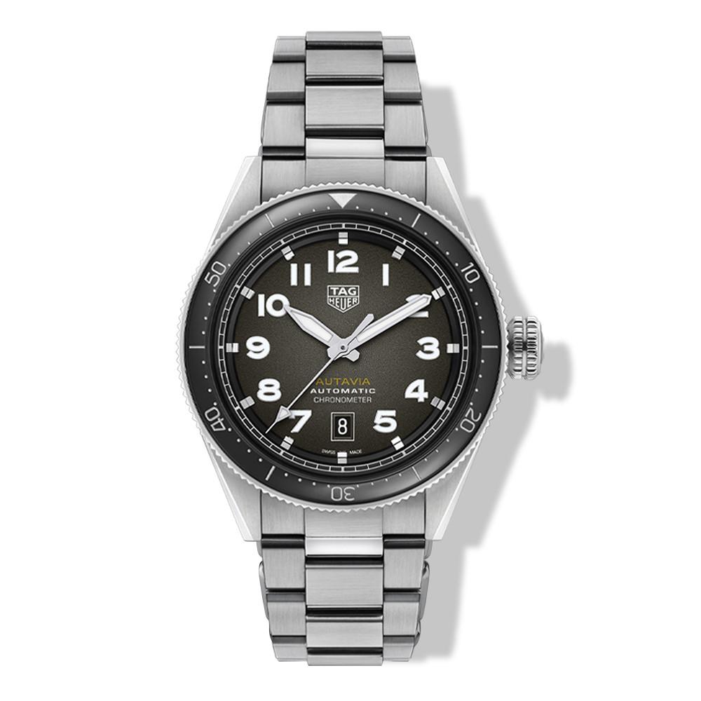 Tag Heuer Autavia Steel 42mm Watch