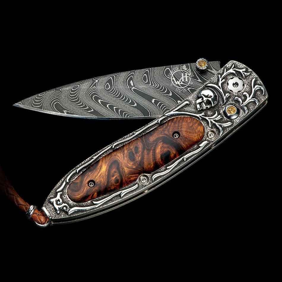 Monarch Sierra Desert Ironwood William Henry Pocket Knife