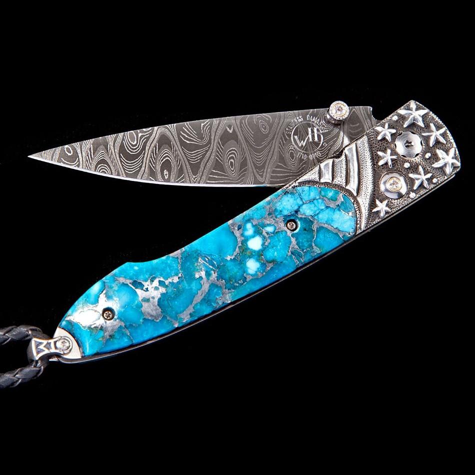 Lancet Stars & Stripes William Henry Pocket Knife