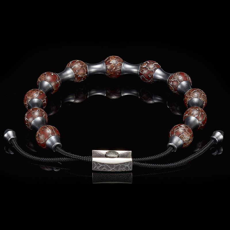 William Henry Adjustable Bead Dino Zenith Bracelet Angle 1