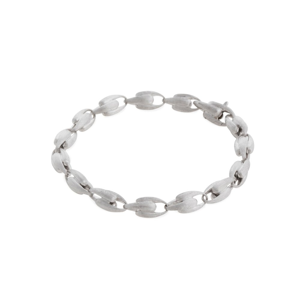 Marco Bicego Lucia Small Link Bracelet in white gold