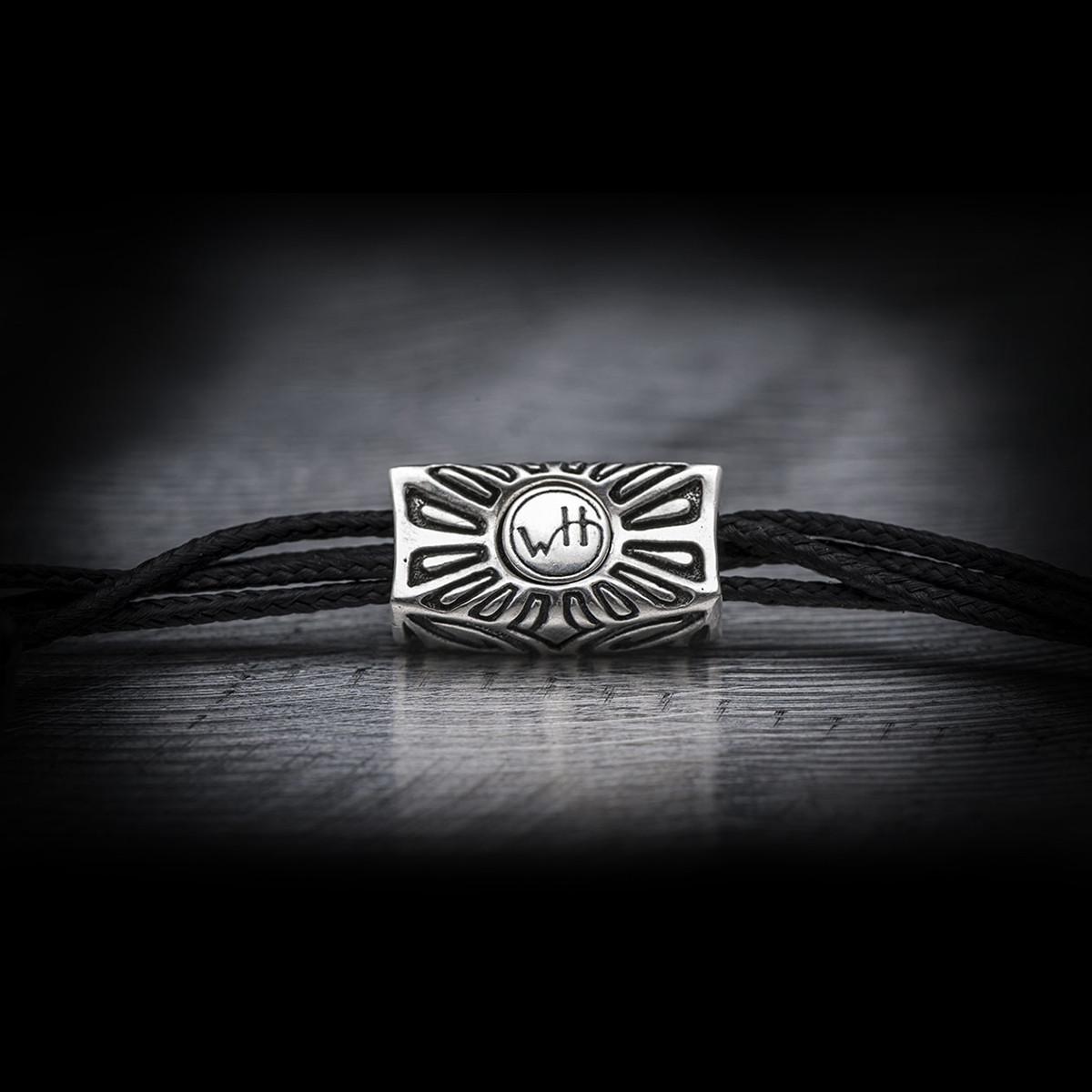 Silver Warrior Stalwart Sardonyx William Henry Beaded Bracelet Clasp