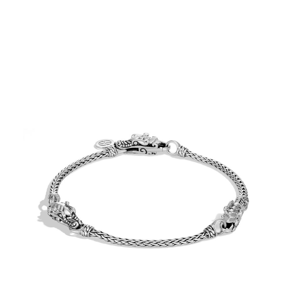 John Hardy Legends Naga Dragon Station Bracelet in Sterling Silver