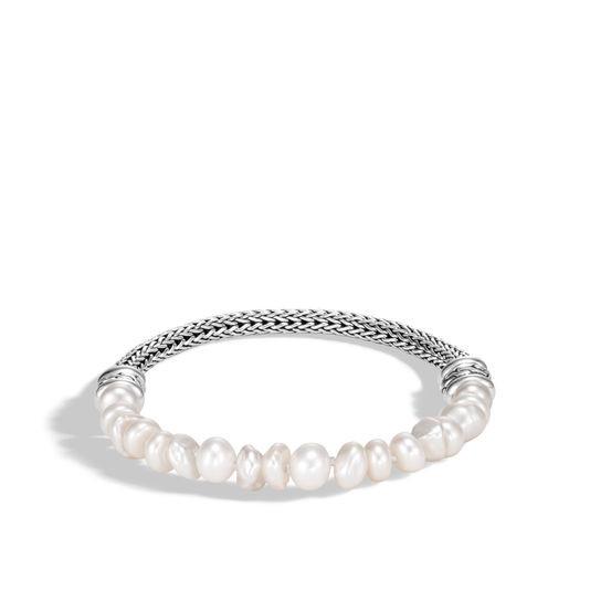 John Hardy Classic Chain Pearl Bead Bracelet in Sterling Silver