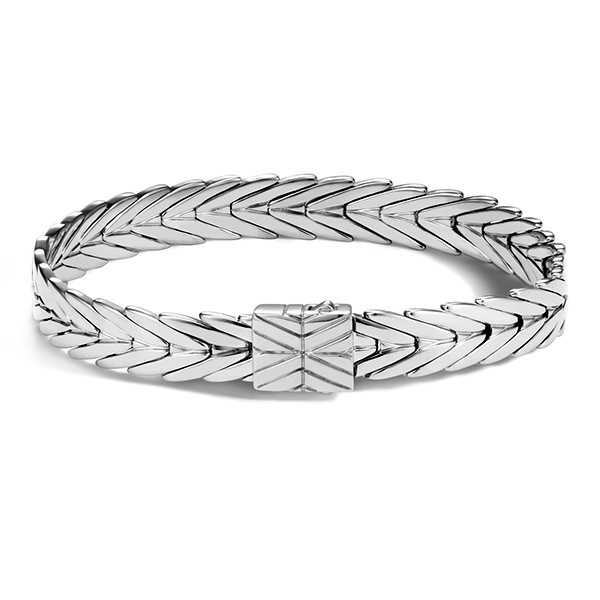 John Hardy Silver 8mm Modern Chain Bracelet