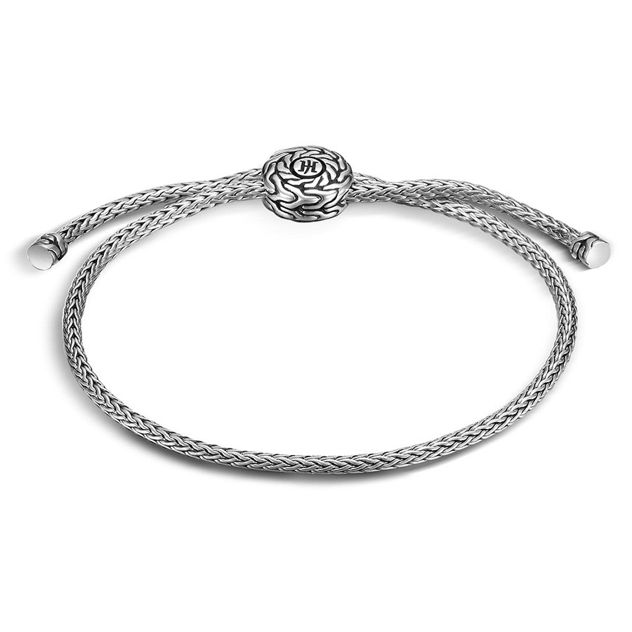 John Hardy Med-Lg Classic Chain Silver Pull Through Bracelet