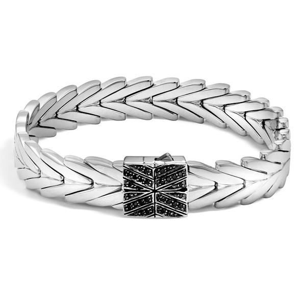 John Hardy Black Sapphire Modern Chain Bracelet