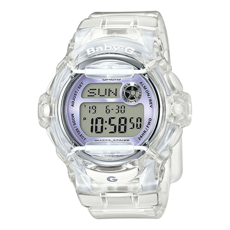 G-Shock Baby G Transparent Digital Watch