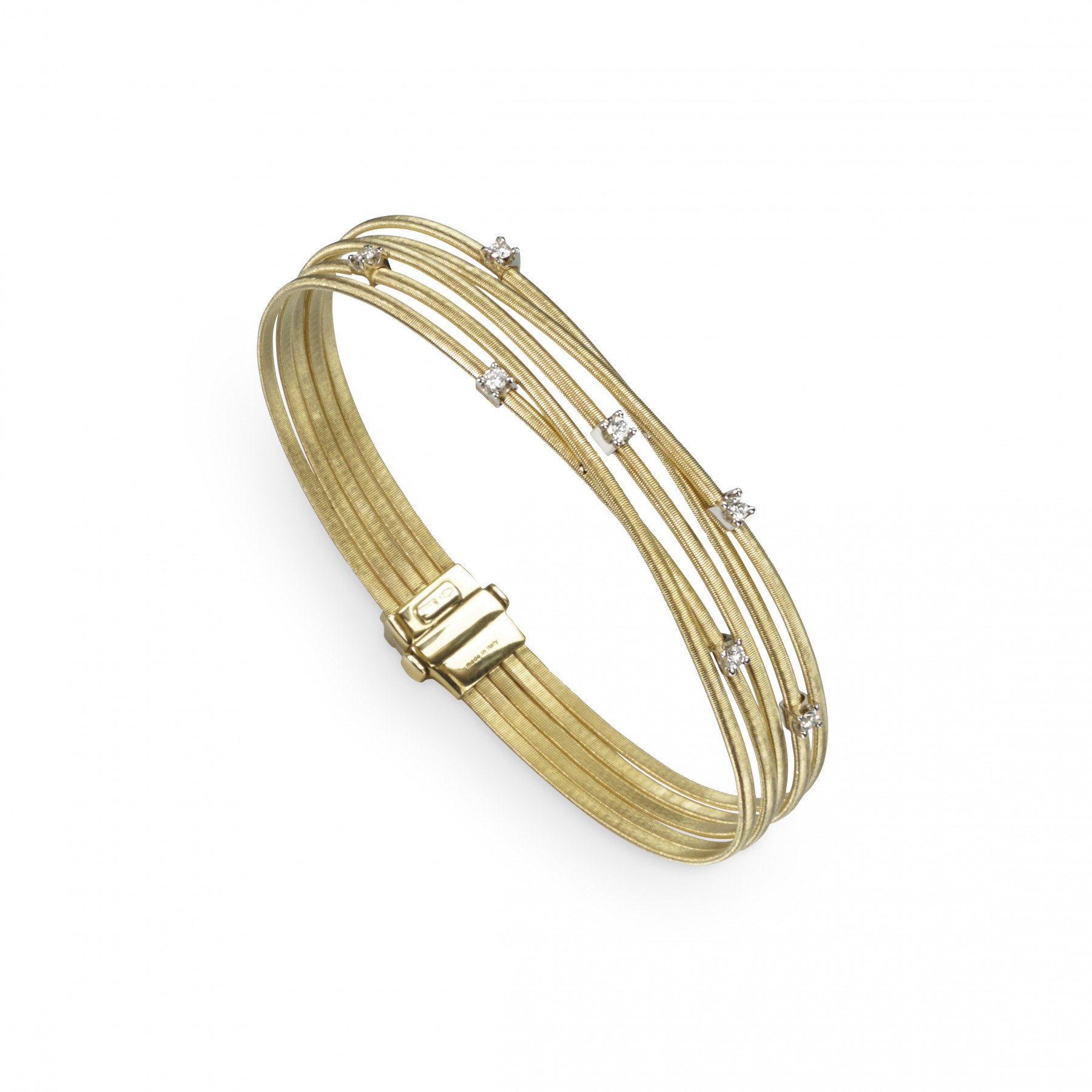 Marco Bicego Goa 18kt Yellow Gold 5-Wire Bracelet