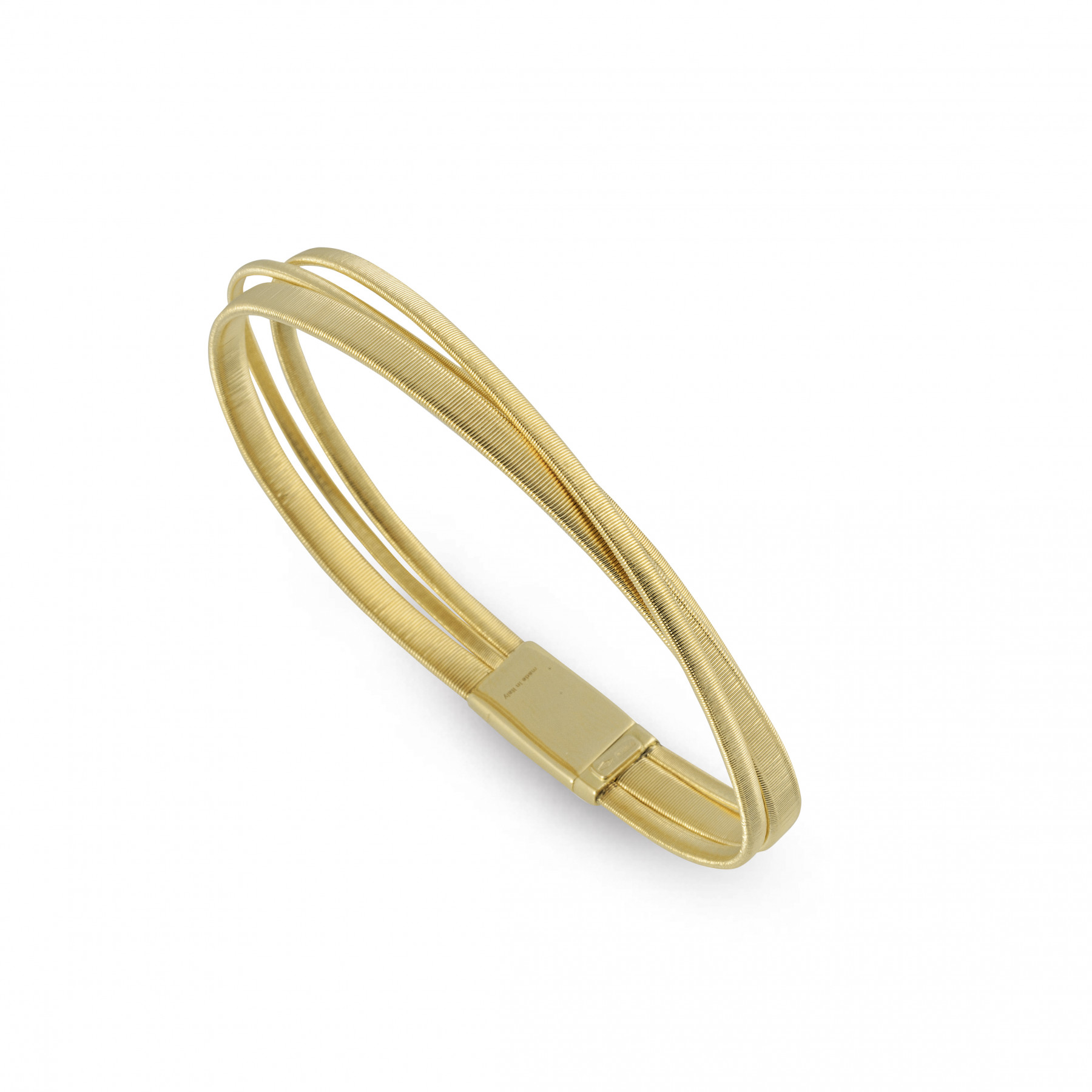 Marco Bicego Masai Yellow Gold Three Strand Bracelet