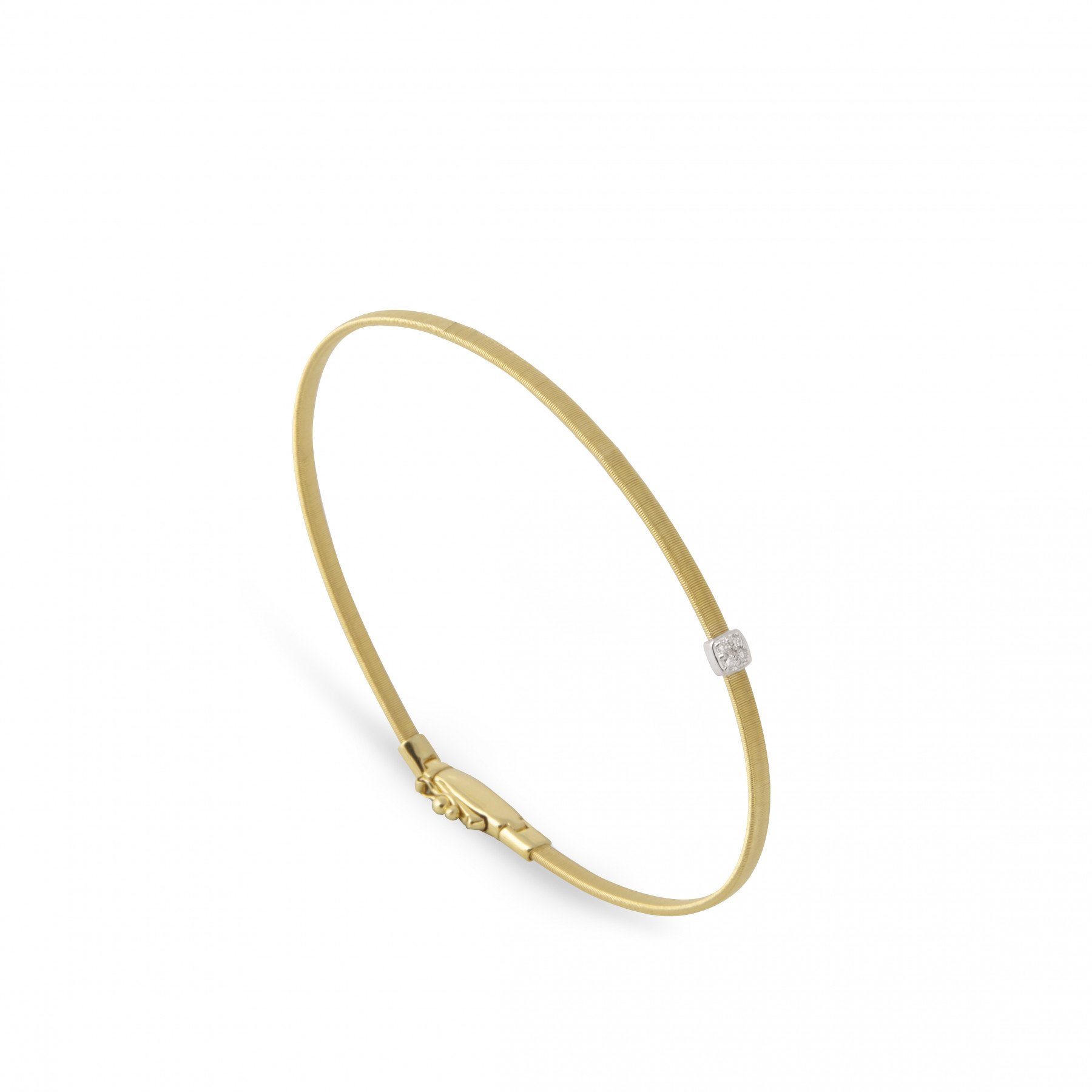 Marco Bicego Masai Single Diamond Station Bangle