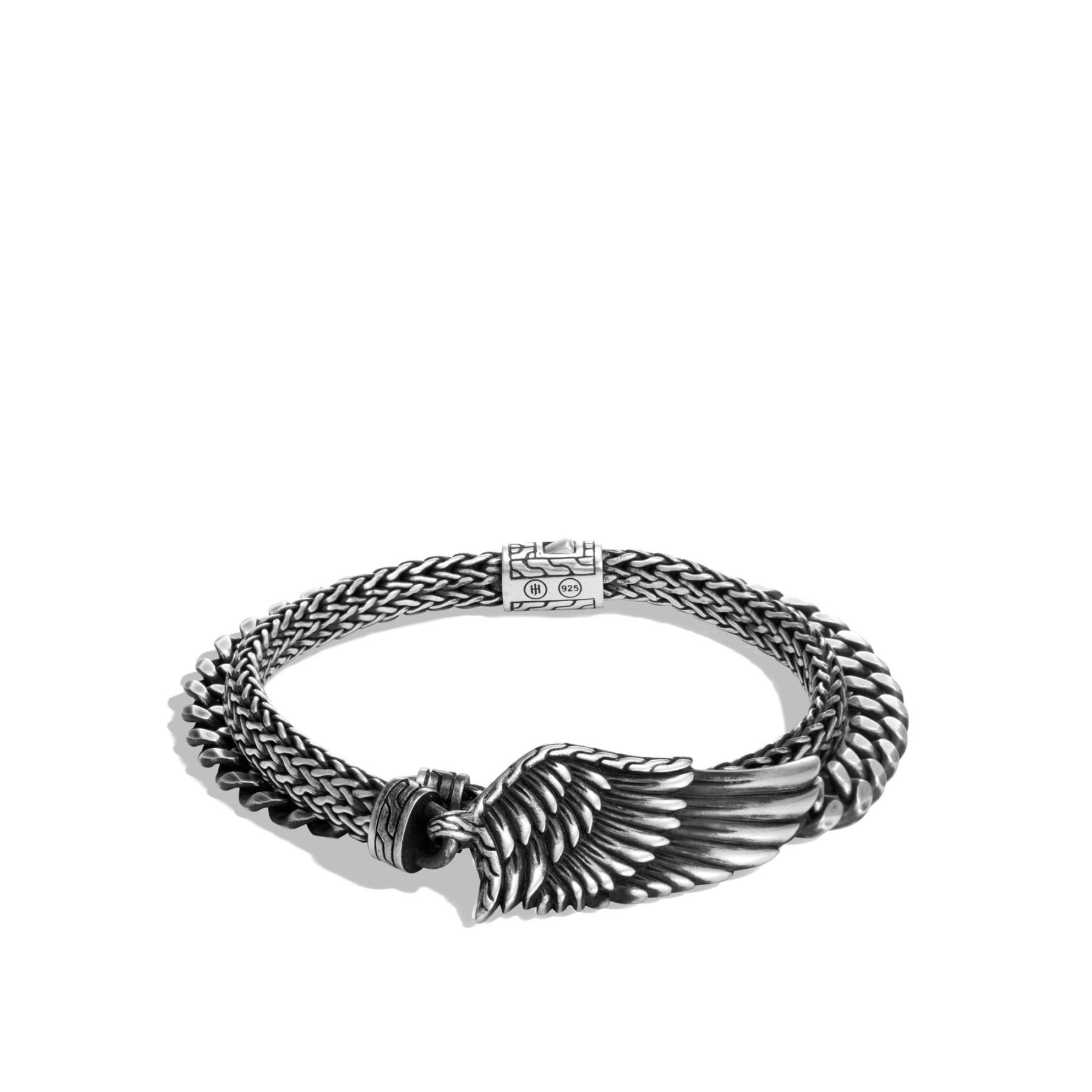 John Hardy Legends Eagle Wing Double Wrap Bracelet