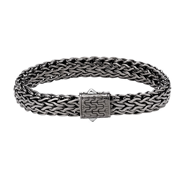 John Hardy Black Rhodium 11mm Classic Chain Bracelet