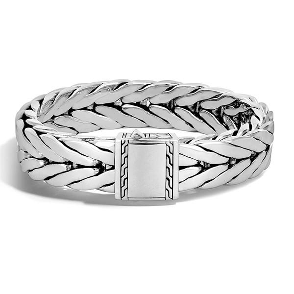 John Hardy Modern Chain Wide Bracelet