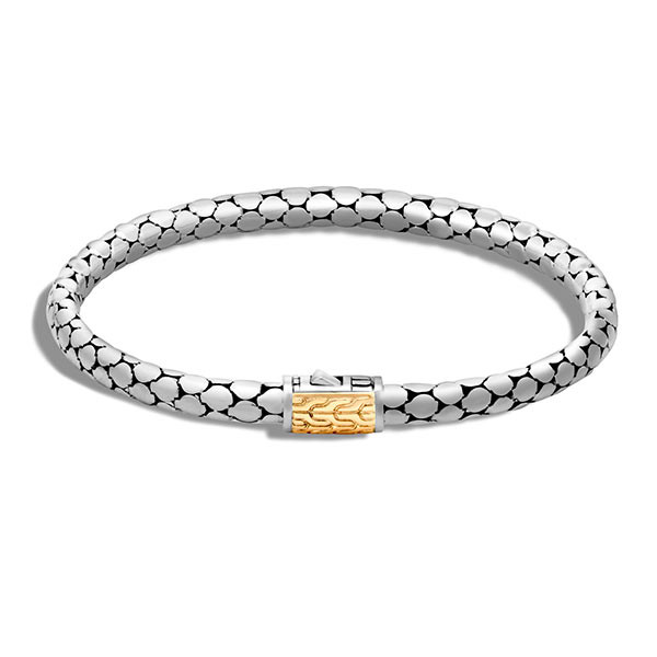 John Hardy Dot Gold & Silver Small Slim Bracelet
