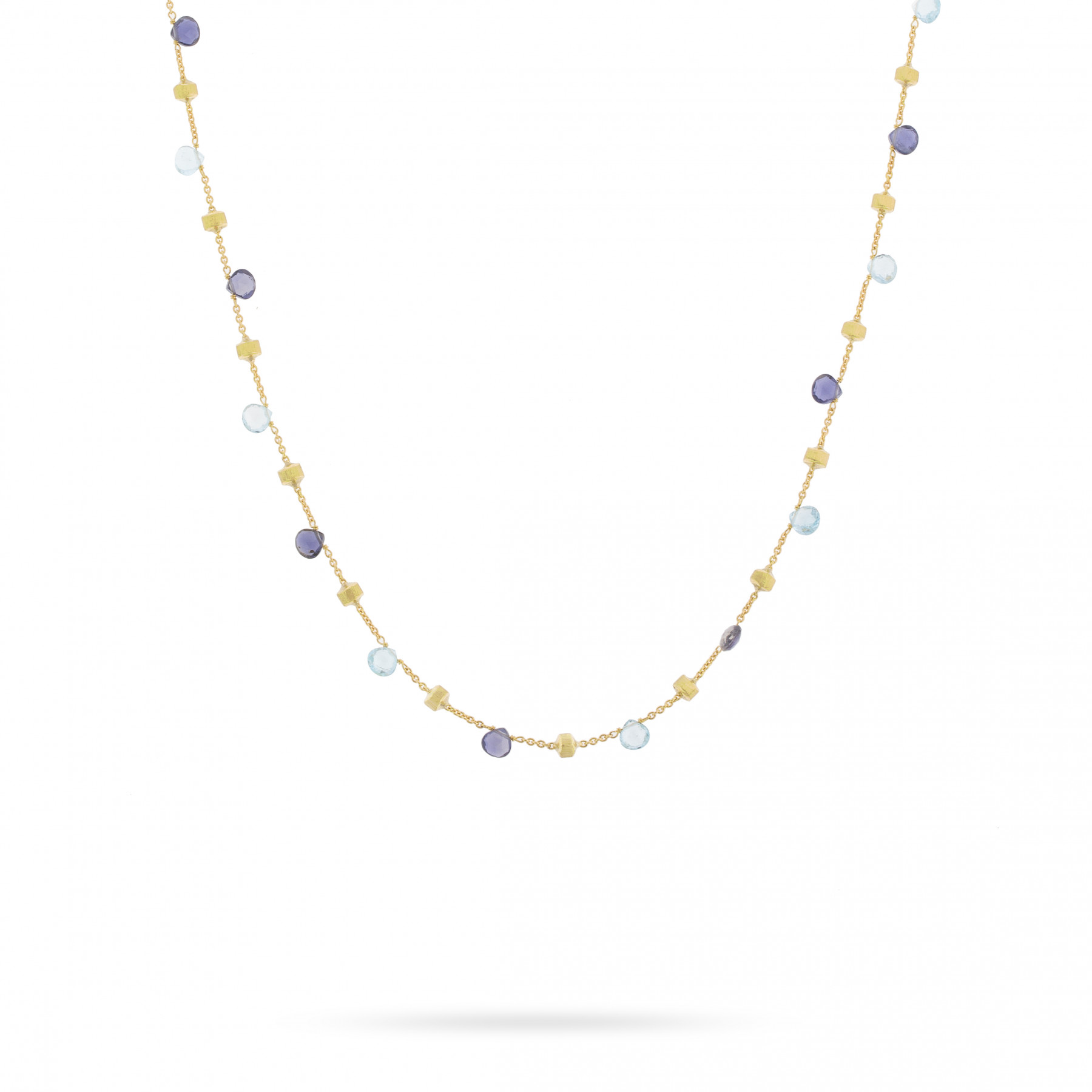 Marco Bicego Paradise 18K Gold Gemstone Necklace
