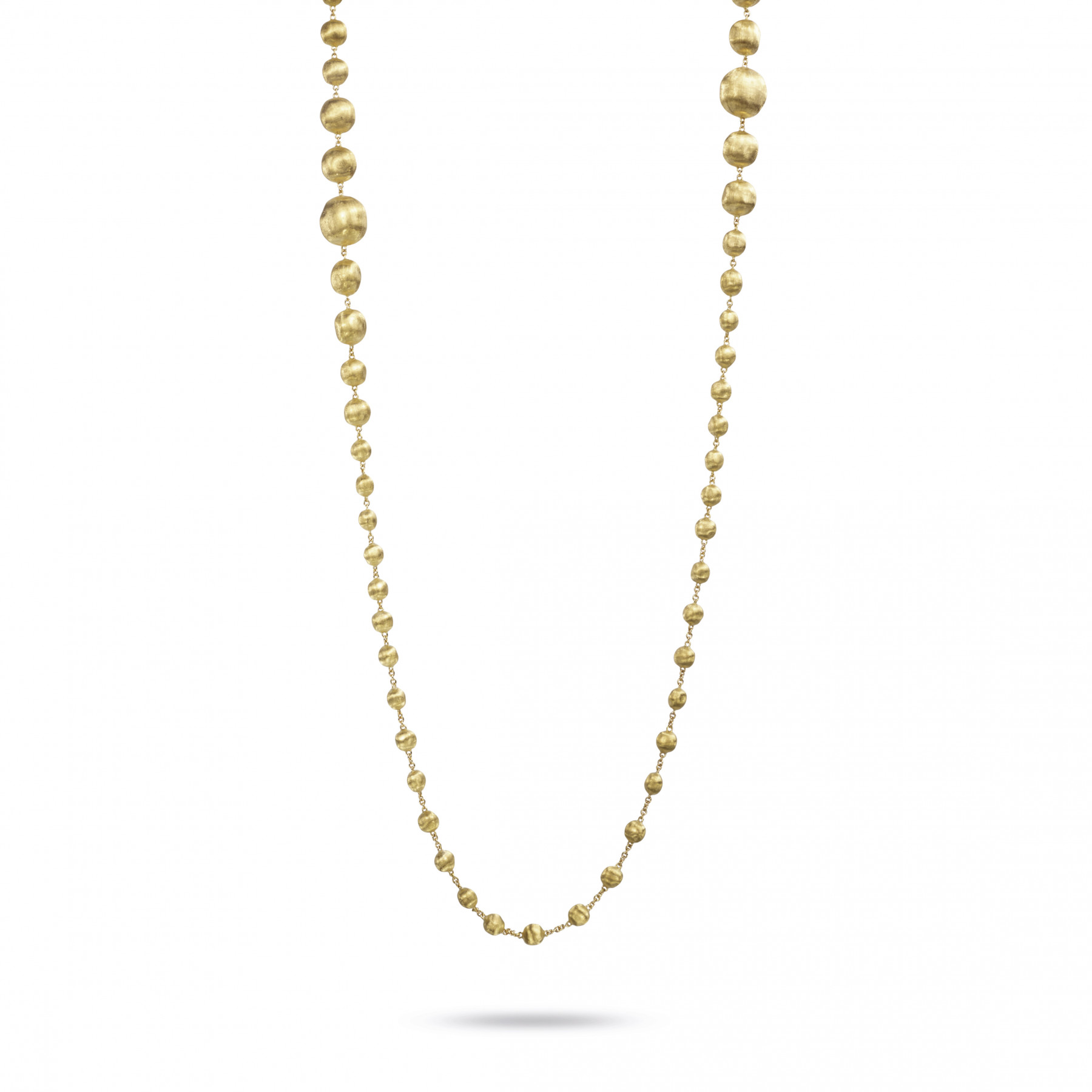"""Marco Bicego Africa 18kt Yellow Gold Necklace 36"""""""