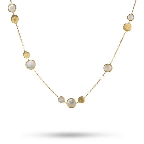 Marco Bicego Jaipur Mother of Pearl Station Necklace