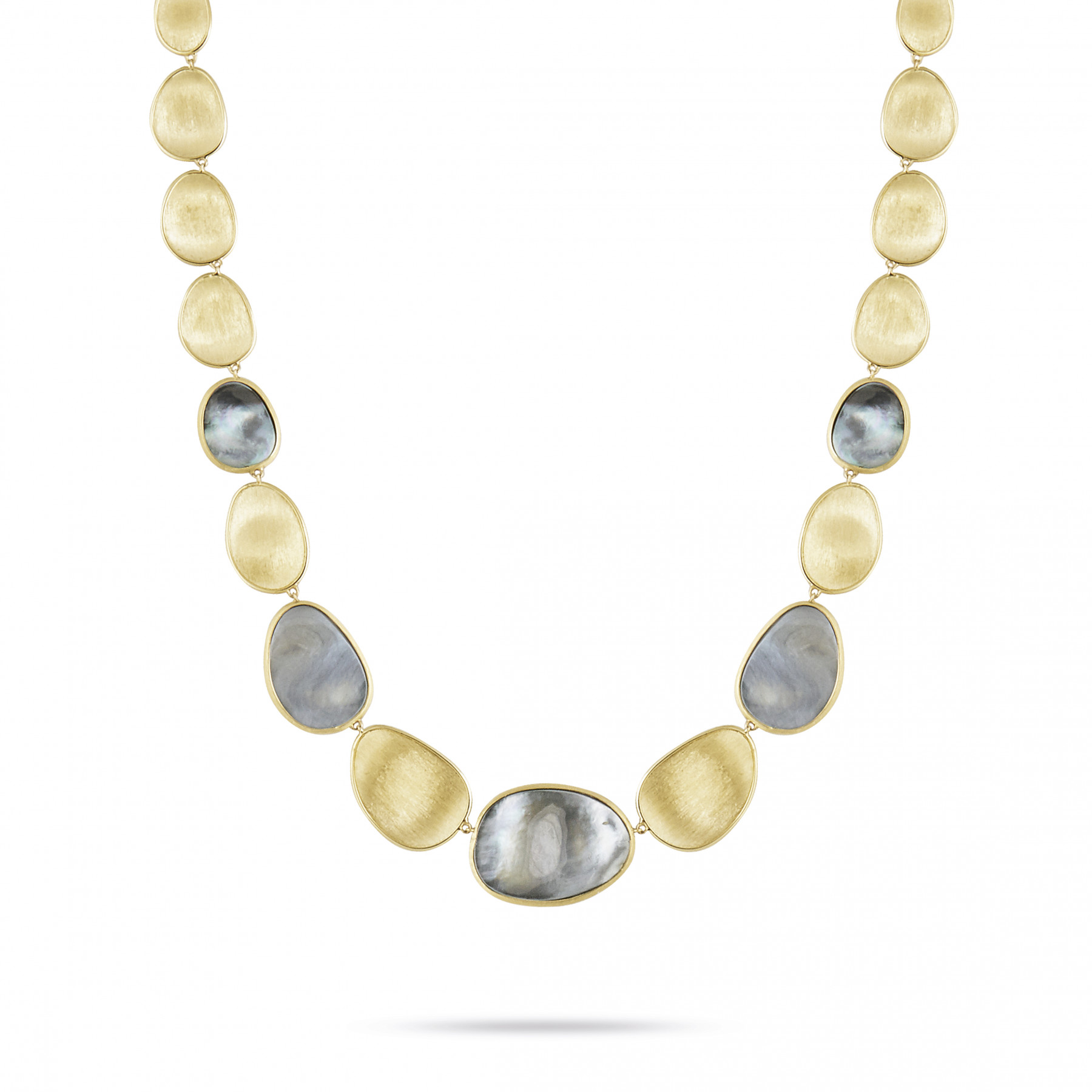 Marco Bicego Black Mother of Pearl Lunaria Necklace