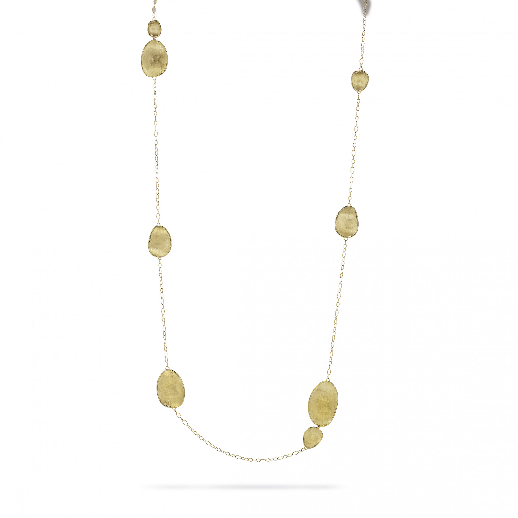 "Marco Bicego Lunaria 18kt Yellow Gold 39.25"" Necklace"