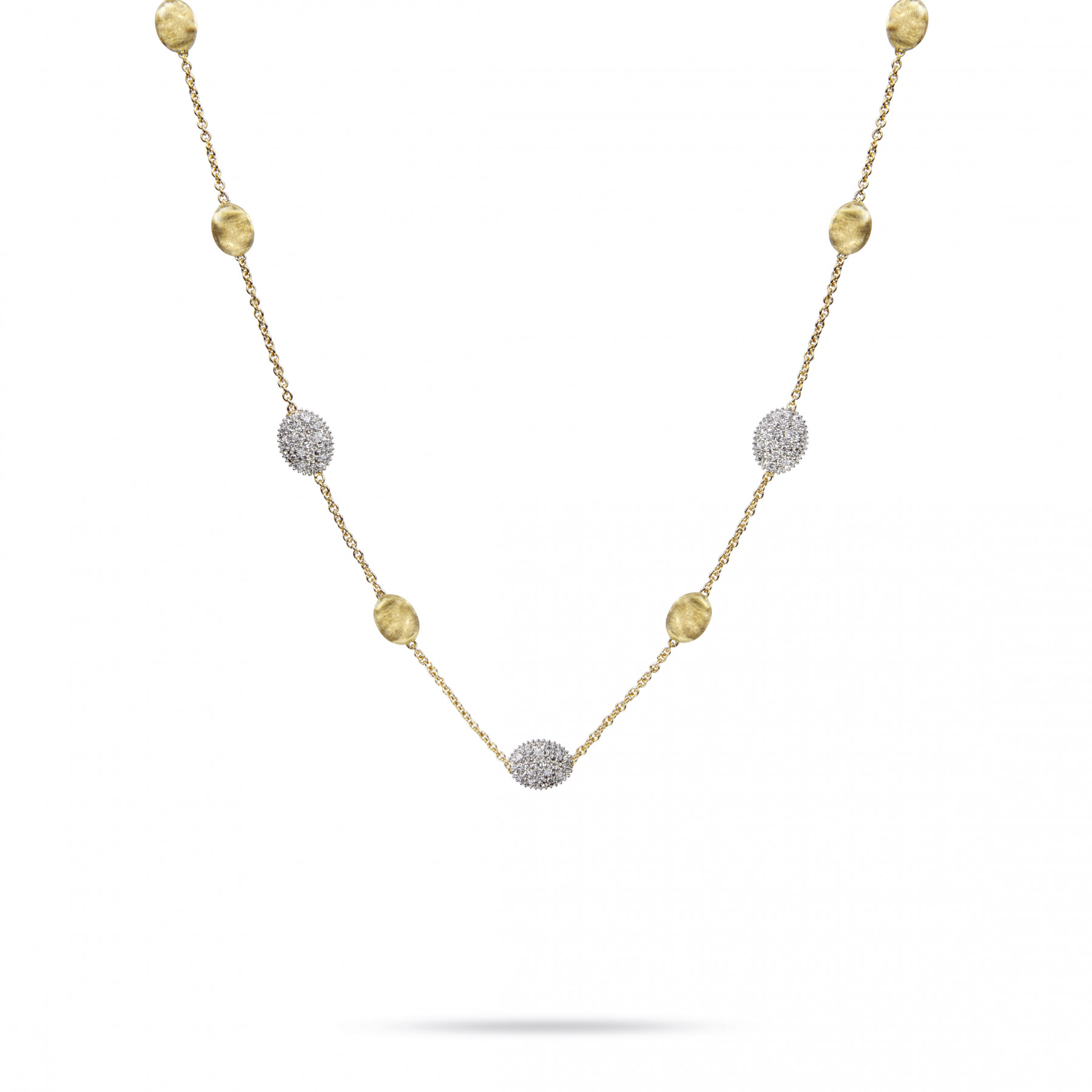 Marco Bicego Siviglia Diamond Station Necklace