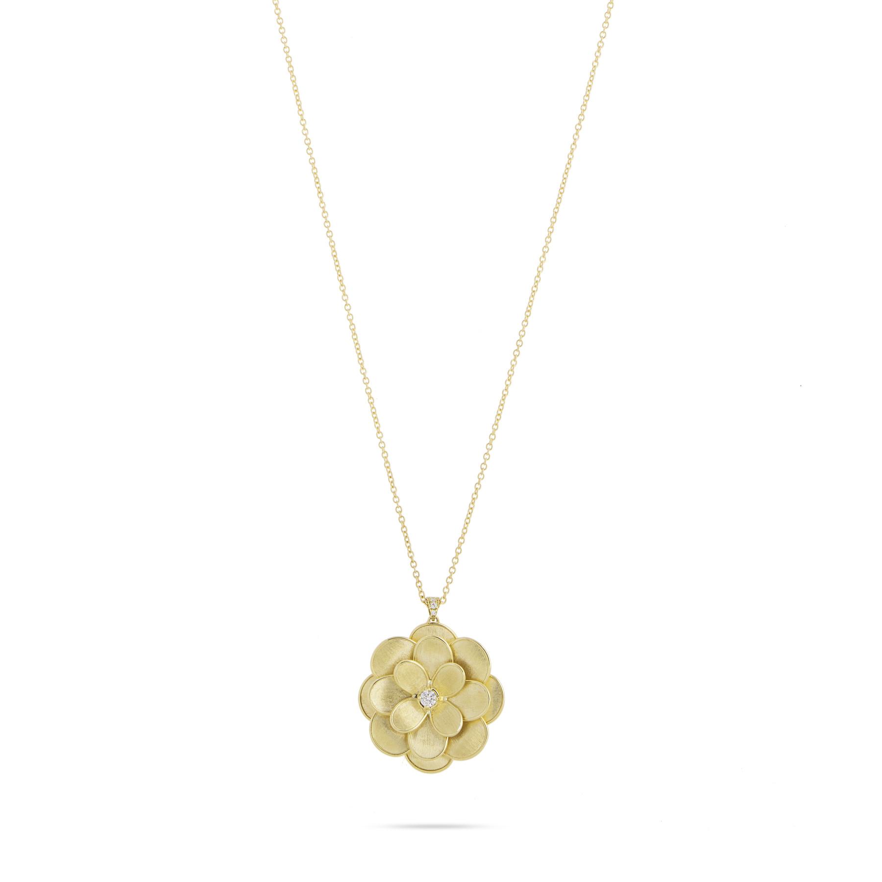 Marco Bicego Petali Gold Flower Necklace